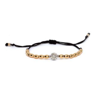 Rose Gold Bracelett with diamonds